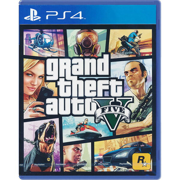 PS4 GTA5 俠盜獵車手5 中英文亞版 grand theft auto V FIVE GTA