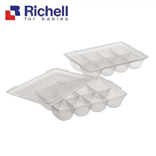 Richell利其爾 - 離乳食連裝盒 25ml/2組 (含上蓋) - 限時優惠好康折扣