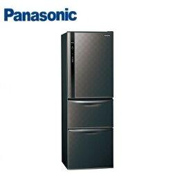 Panasonic 國際牌 NR-C389HV 三門變頻冰箱(385L) (星空黑) ※熱線:07-7428010