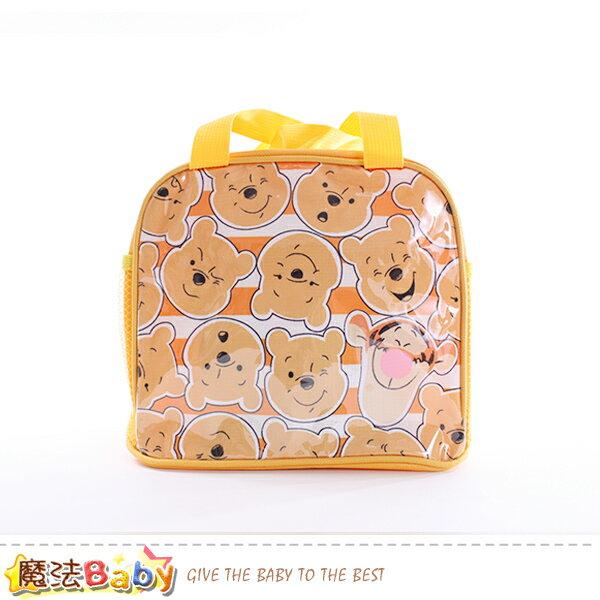 便當袋 迪士尼小熊維尼授權正版提袋 魔法Baby~f0254