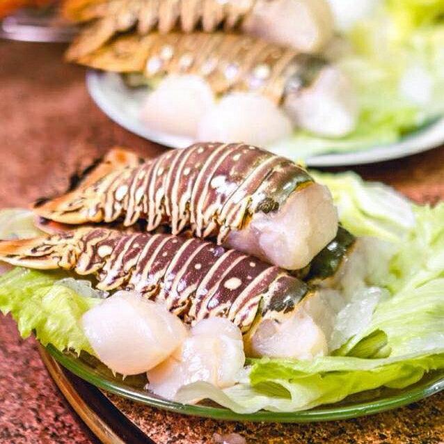 【就是愛海鮮-龍蝦身】彰化海鮮肉品/來自加勒比海鮮凍龍蝦身/超大規格「九盎司」(260±10%)/節日聚會大快朵頤/厚實飽滿鮮美滋味