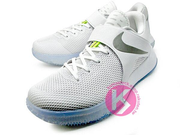 2017 平價籃球鞋 超高C/P值 NIKE ZOOM LIVE EP 全白 銀勾 冰底 黏扣帶 HYPERFUSE 鞋面科技 前掌 ZOOM AIR 氣墊 輕量 透氣 NBA 球星代言 (852420-117) 0217 1