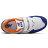 Shoestw【YV574NSD】NEW BALANCE NB574 運動鞋 黏帶 中童鞋 Wide 白寶藍橘 2