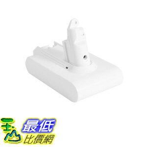 Dyson 白色電池相容型 Mattress 21.6V 2.2Ah Li-ion Battery for Dyson V6 Vacuum Cleaner DC58 V6 DC74 TB3