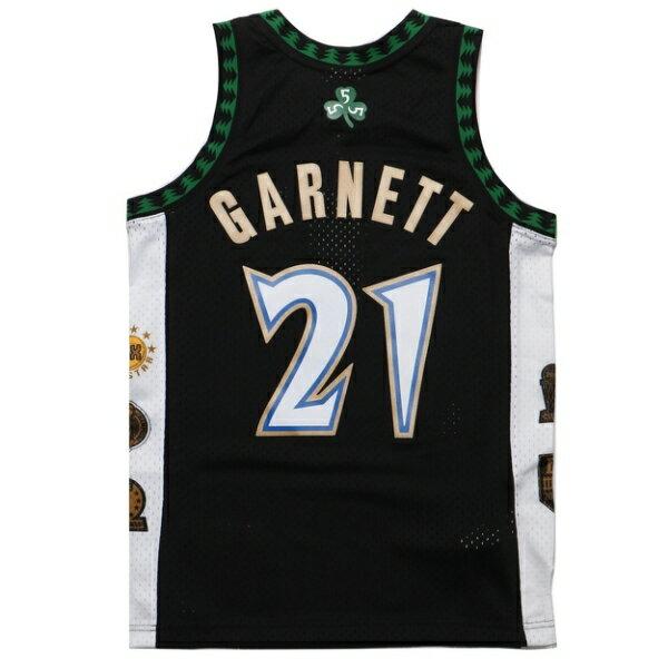 【❤️抗疫起來❤️滿$1500現折$100】MITCHELL & NESS M&N NBA生涯紀念版球衣 GARNETT 灰狼 黑 (布魯克林) MNSWJG2199A