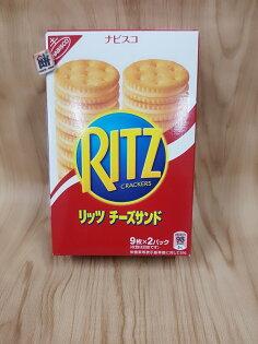 RITZ起司夾心餅160g盒