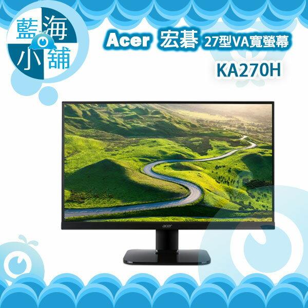acer 宏碁 KA270H 27型VA寬螢幕 電腦螢幕