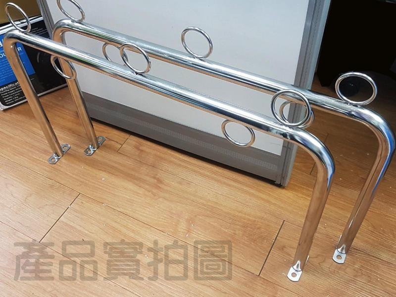 CA013 正台灣製 不鏽鋼固定式(一組兩支) U型曬衣架 ㄇ字型晒衣架 不銹鋼竹竿架 三角架 固定架 掛壁式曬衣架