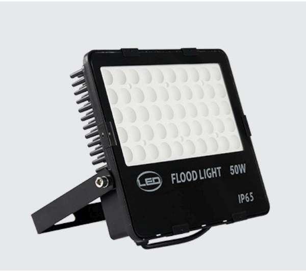 新款白光黃光50W投光燈110V~220V薄型保固一年國際認證戶外燈投射燈
