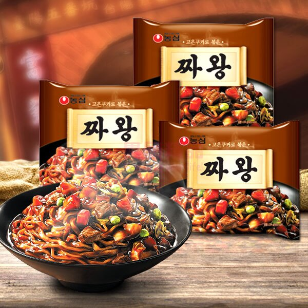 韓國 農心 炸醬王拉麵 4入/袋【特價】§異國精品§