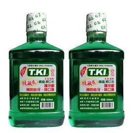 T.KI鐵齒含氟抗敏感漱口水 620ML/瓶 買一送一★愛康介護★
