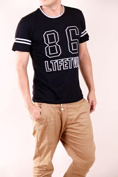【CS衣舖 】韓系 合身版 萊卡彈力 短袖T恤 3104 4