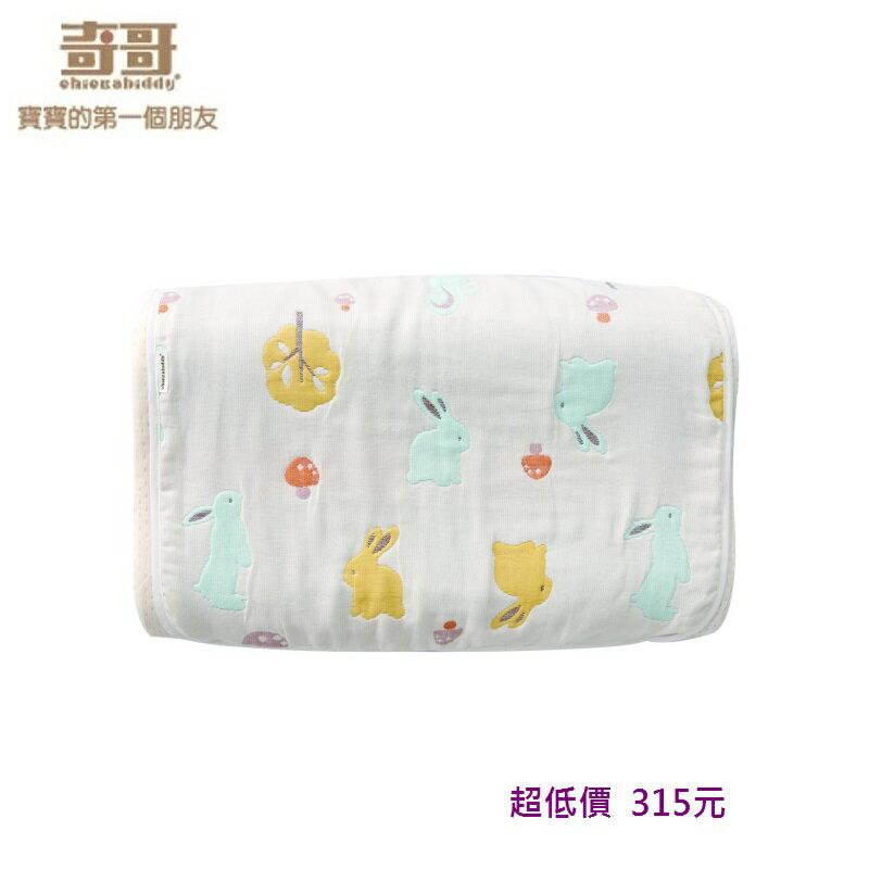 *美馨兒*奇哥-快樂森林六層紗大枕巾 /嬰兒枕套 315元