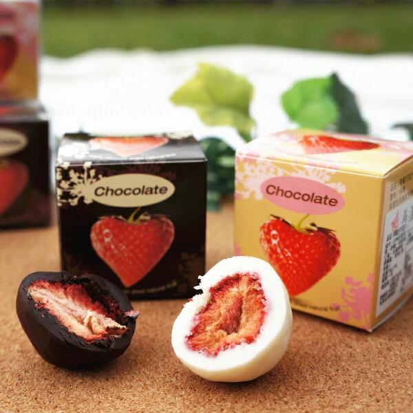 【4折特賣】馬湛農場草莓巧克力3入組-黑巧克力白巧克力36g=建議選用冷藏宅配=width=78
