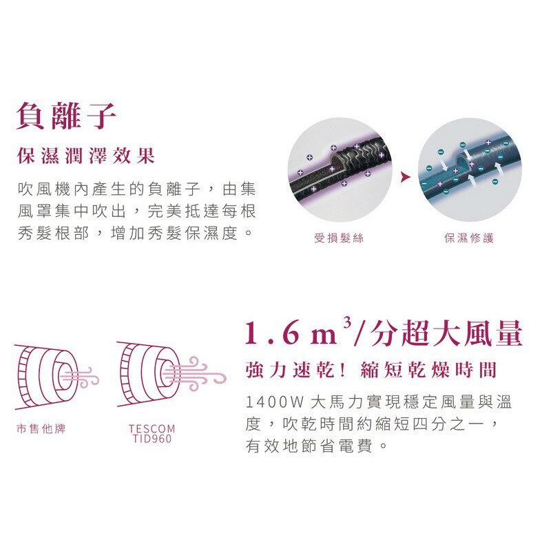 【日本TESCOM鑽石負離子吹風機】吹風機 大風量吹風機 負離子吹風機【AB219】 4