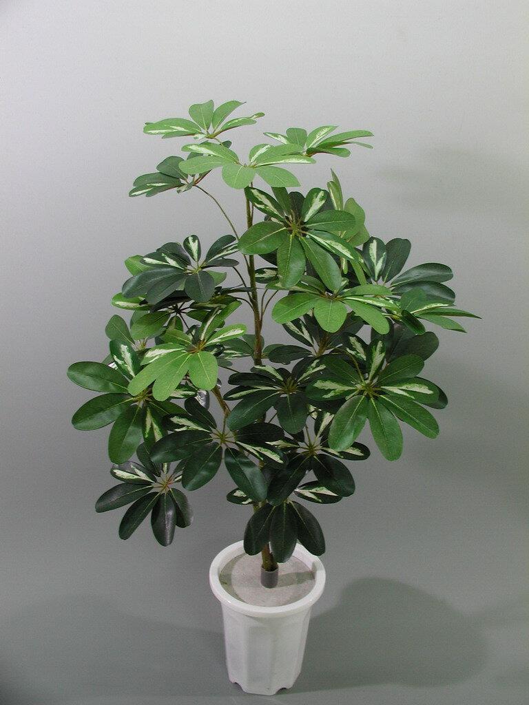 ★超低價★3尺 斑葉鵝掌藤 / 塑膠樹幹人造樹 空間 景觀 佈置 造景