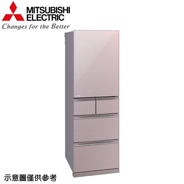 【MITSUBISHI三菱】455公升日本原裝變頻五門冰箱MR-BC46Z-P【三井3C】