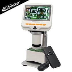 【Andonstar AD105S 4.3吋螢幕USB數位電子顯微鏡+LED底座平台-最高250X放大/超清晰顯示/支援FHD1080P/可連接行動電源】【風雅小舖】