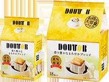 【橘町五丁目】日本Doutor羅倫多濾式咖啡-香醇18袋入-126g(黃)