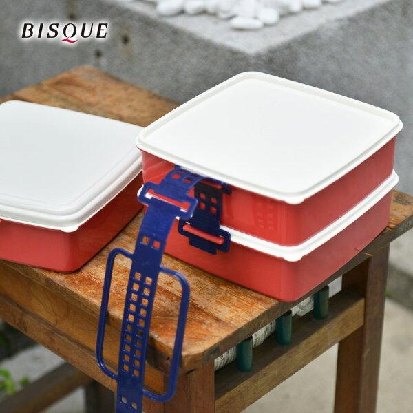 【日本BISQUE】3層野餐便當盒-S