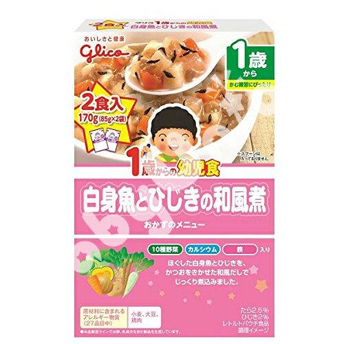 小奶娃婦幼用品:Glico固力果-白身魚和風煮幼兒食品調理包