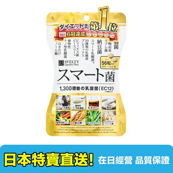 【海洋傳奇】【日本出貨】日本 SVELTY SMART菌 乳酸菌 56粒 / 120粒 0