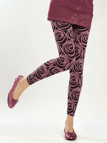 [漫朵拉情趣用品]【STREET】無縫外搭九分褲(玫瑰)黑+紅/秋冬厚款 DM-91796