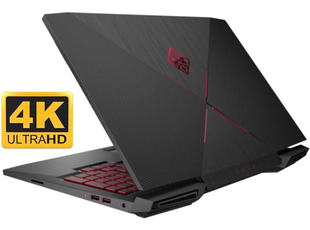 "HP OMEN 15t Gaming and Business Laptop PC (Intel i7 Quad Core, 32GB RAM, 4TB SSD, 15.6"" 4K UHD Display (3840x2160) G-SYNC, NVIDIA GTX 1060 6GB, Thunderbolt3, Win 10 Pro) 0"