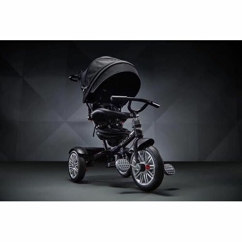 賓利 Bentley 原廠授權兒童三輪車/三輪嬰幼兒手推車-黑色★衛立兒生活館★