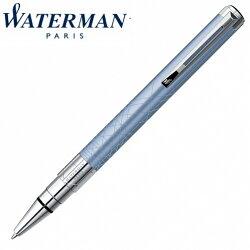 【華特曼 WATERMAN】透視系列 漆砂青碧白夾 原子筆 W0831150 /支
