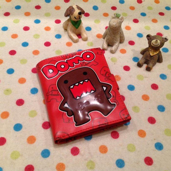 =優生活=日本多摩君DOMO立體造型短夾 卡通DOMO皮夾造錢包 零錢包 證件包