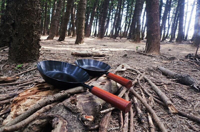 【野道家】森木碳鋼鍋 手柄可拆設計 8吋/10吋