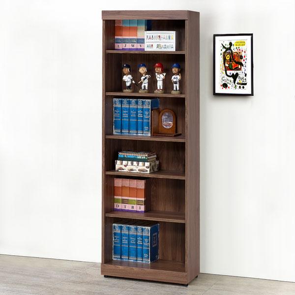 優世代居家生活館:書櫃收納櫃置物櫃櫥櫃《Yostyle》尚恩2尺開放書櫃-胡桃