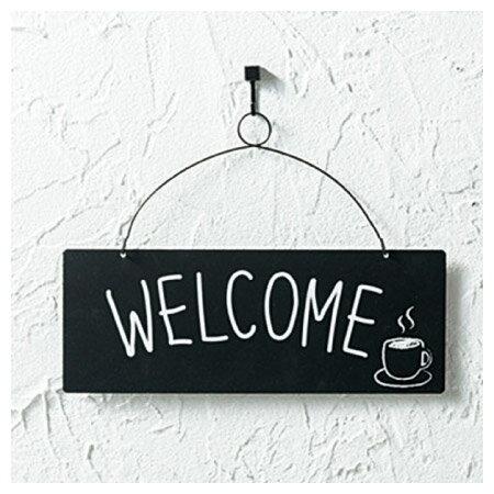 (網購限定)鋼製歡迎裝飾掛飾 Welcome