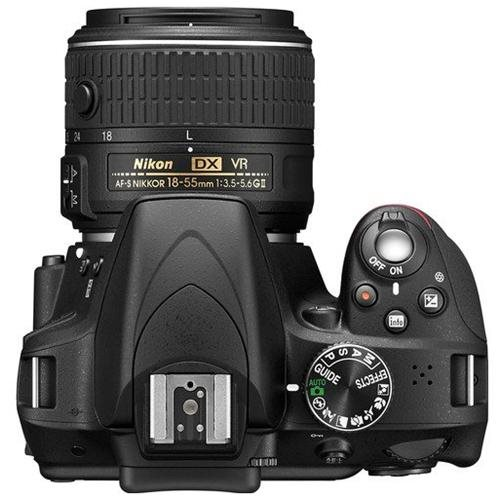 "Nikon D3300 24.2 Megapixel Digital SLR Camera Body Only - 18 mm - 55 mm - Black - 3"" LCD - 16:9 - 3.1x Optical Zoom - Optical (IS) - 6000 x 4000 Image - 1920 x 1080 Video - HDMI - HD Movie Mode 3"