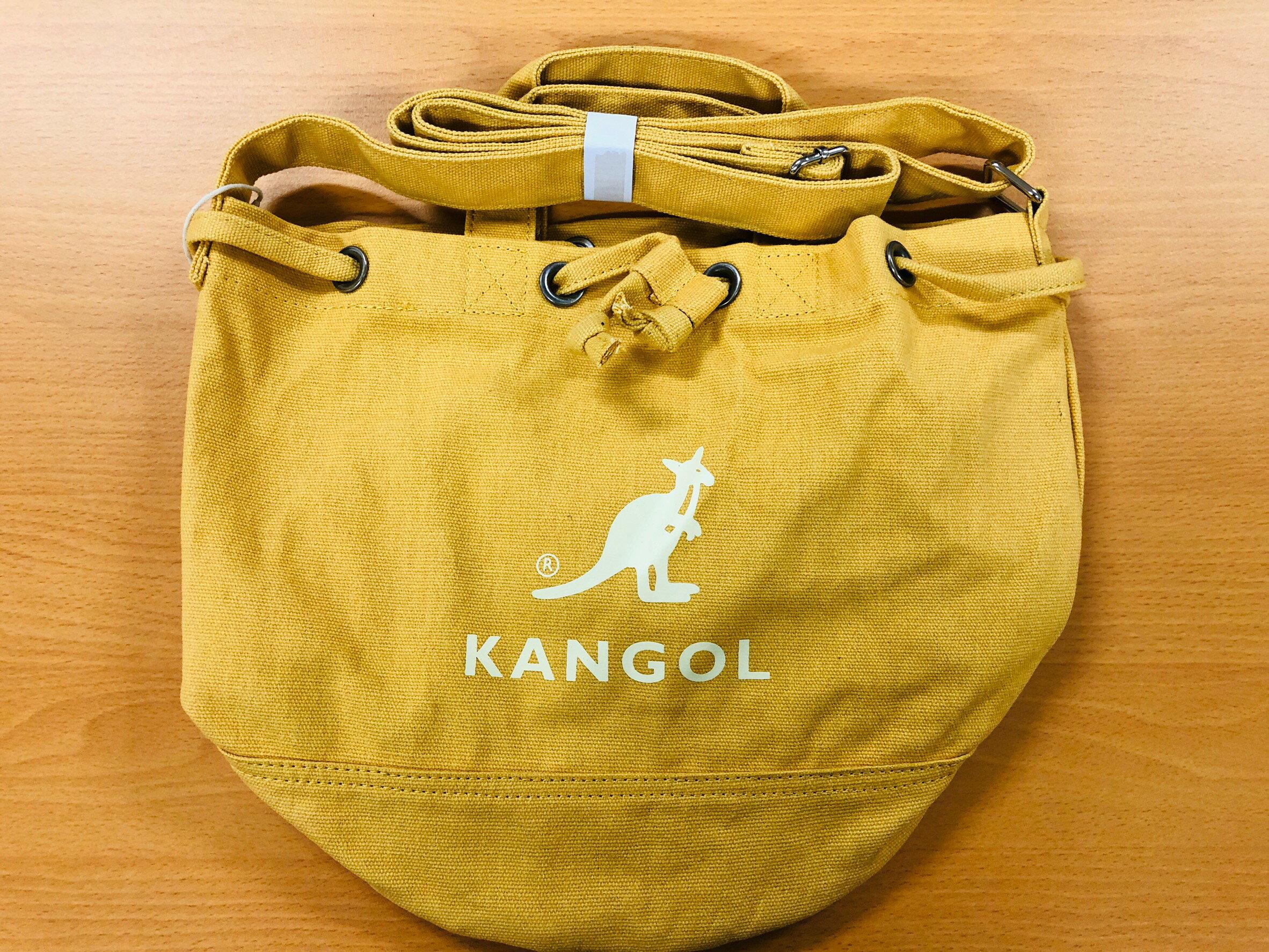《現貨》韓國-KANGOL-2way mini 水桶包