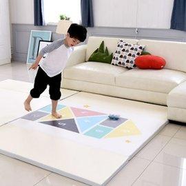 【淘氣寶寶】韓國DreamB折疊式防撞遊戲地墊-跳格子200x140x4(cm)