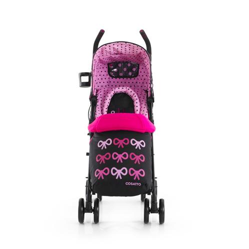 【Limiteria】全球最繽紛的嬰幼兒手推車 英國Cosatto 嬰幼兒手推車-Supa BowHow蝴蝶結(一次付清 特價33折 只要$6,999)