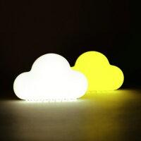 元宵節推薦雲朵聲控創意節能小夜燈(白/黃光)USB充電 無線 寶寶臥室嬰兒床頭安撫燈 led開關小夜燈 氛圍燈 溫馨閱讀燈 桌燈 露營燈