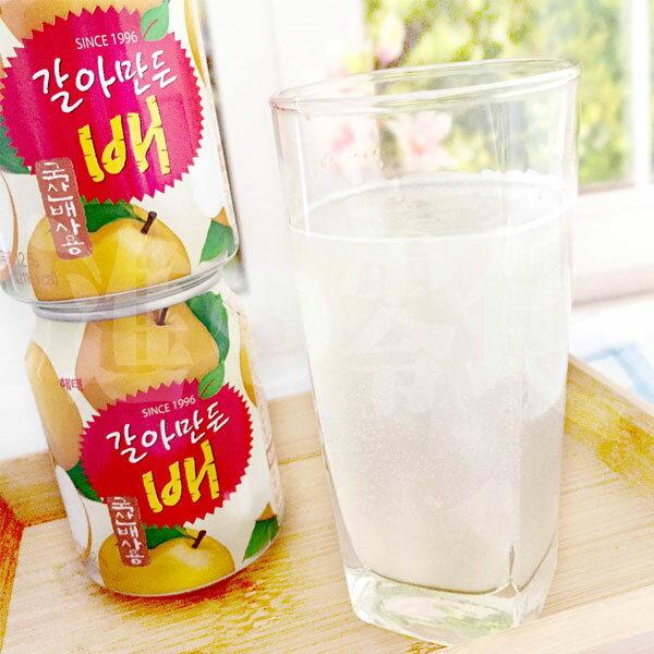 韓國海太Haitai水梨汁韓國盛產世界聞名的大水梨這一罐賣到全世界的水梨汁!每一口都喝的到真實的水梨顆粒.完全不甜.就是真正的水梨打成汁【特價】§異國精品§
