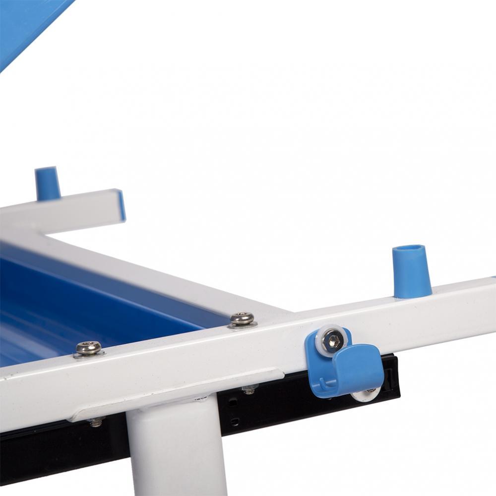 96e718238c7 Blue Adjustable Children s Desk Chair Set Child Study Desk Kids Study Table  XLQ 3