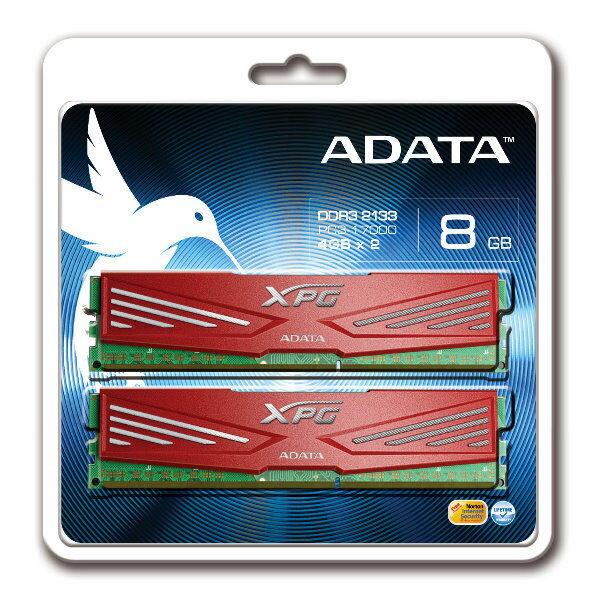 【新風尚潮流】威剛 XPG V1 超頻記憶體 8GB DDR3-2133 終身保固 AX3U2133W4G10-DR