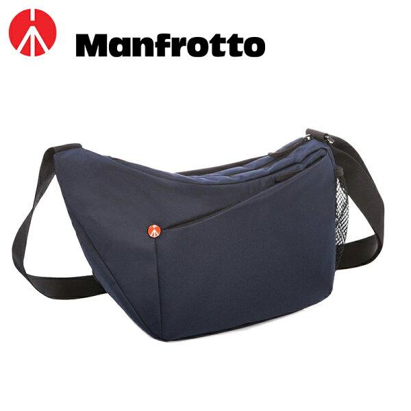 ◎相機專家◎Manfrotto開拓者單眼肩背包相機包攝影包夜空藍MBNX-SB-IIIBU正成公司貨