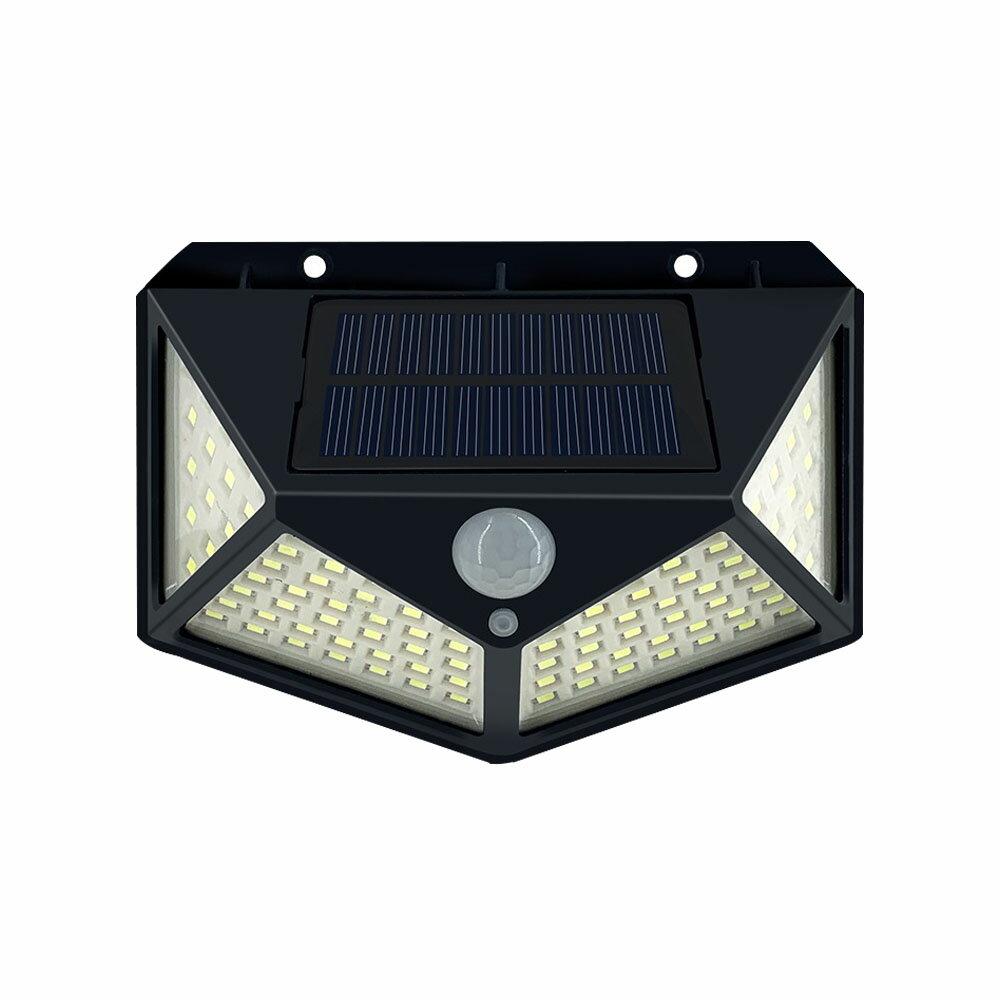 【現貨】太陽能燈 四面LED燈 庭院壁燈 感應燈 照明路燈 圍墻燈 人 戶外路燈  鋰電感應燈 感應壁燈 交換禮物