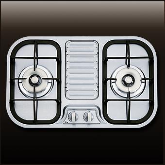 (喜特麗)雙口檯面爐-JT-2203S