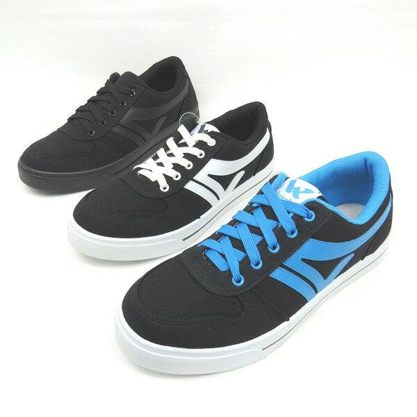 *免運*男舒適透氣鞋帶輕量休閒運動帆布鞋05-5367(黑白/黑藍/全黑)*[彩虹屋]* 現+預