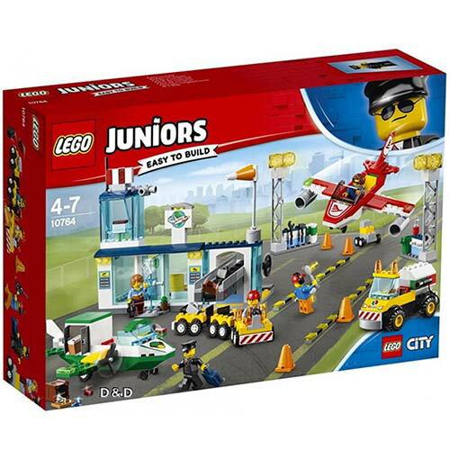 樂高積木LEGO《LT10764》2018Junior初學級系列-城市中心機場