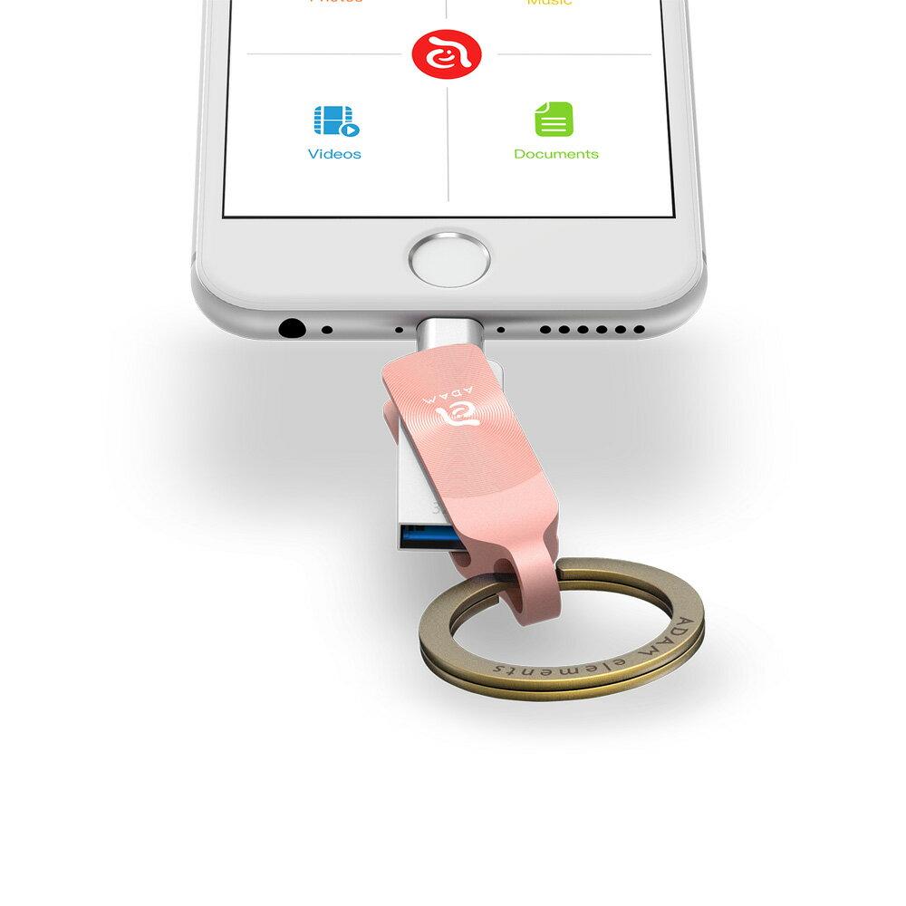iKlips DUO + Apple 專用雙向USB 3.1 極速多媒體行動碟 32GB【亞果元素】 蘋果/APPLE/手機/3C/iPhone/儲存/隨身碟/輕便 9