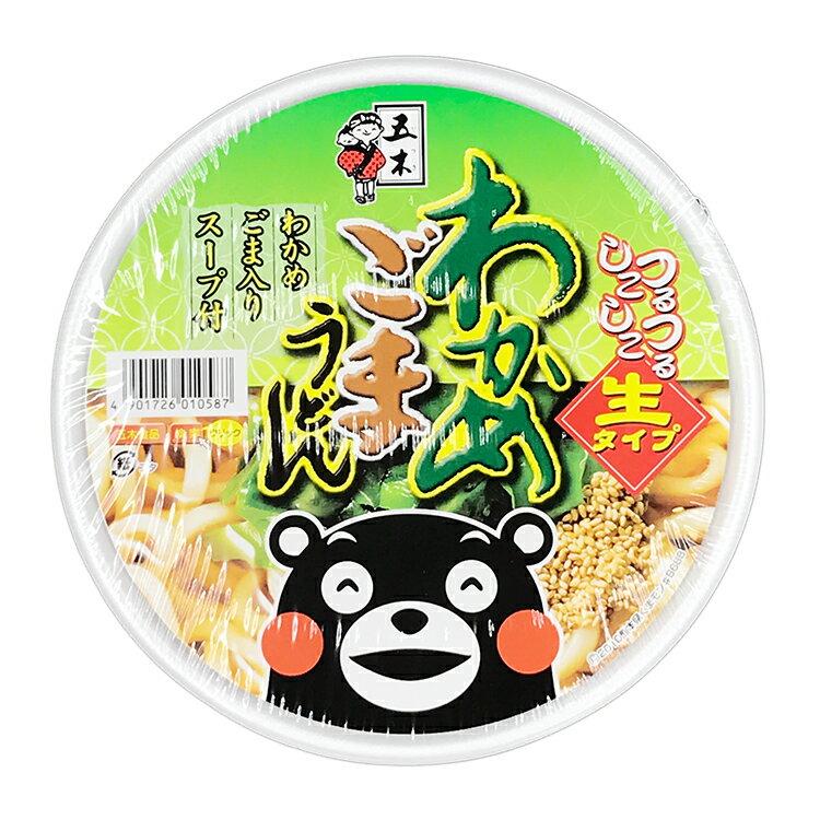 日本 五木 海帶芝麻烏龍麵(163g)【庫奇小舖】