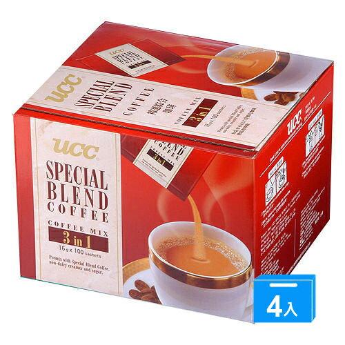 UCC精選綜合咖啡(精裝盒)16g*100*4【愛買】